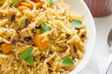 African black eyed peas rice 3
