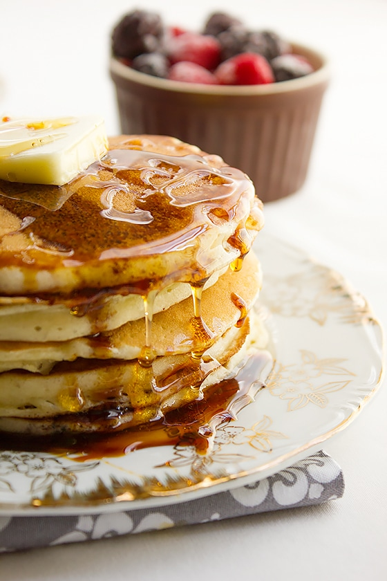 Best sour cream pancakes 6