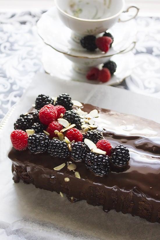chocolate fudge loaf cake 5