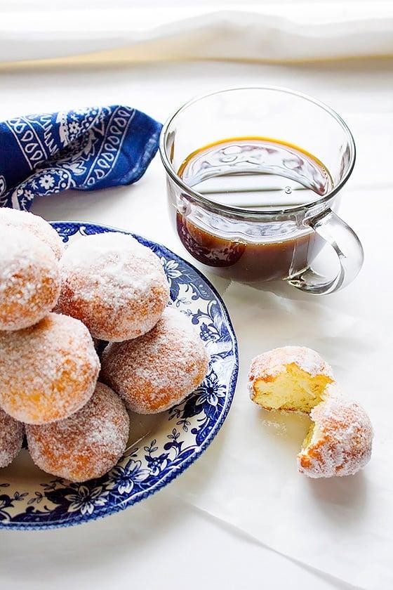 mozzarella filled sweet doughnuts 3