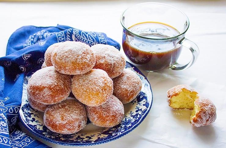 mozzarella filled sweet doughnuts 8