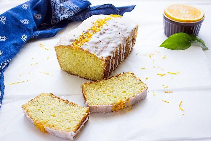 orange sour cream loaf cake 1