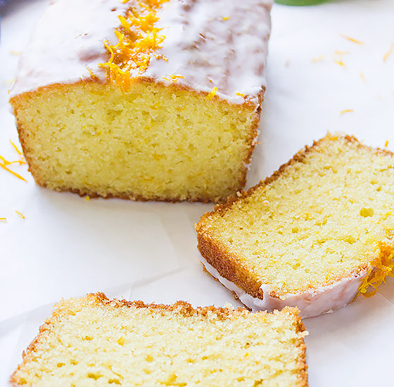 orange sour cream loaf cake 3