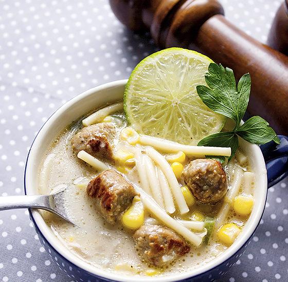 sausage cream soup 5