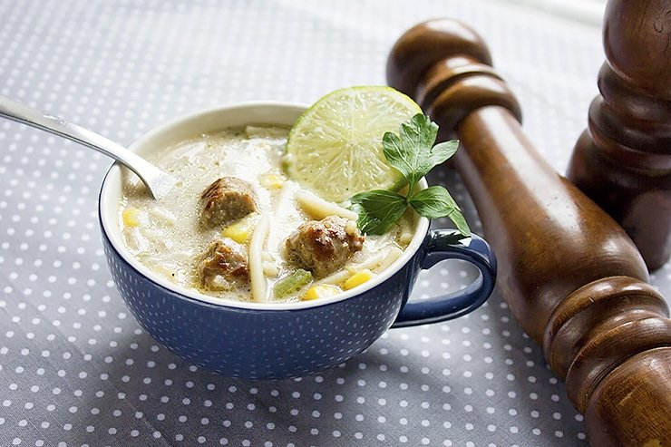 sausage cream soup 8