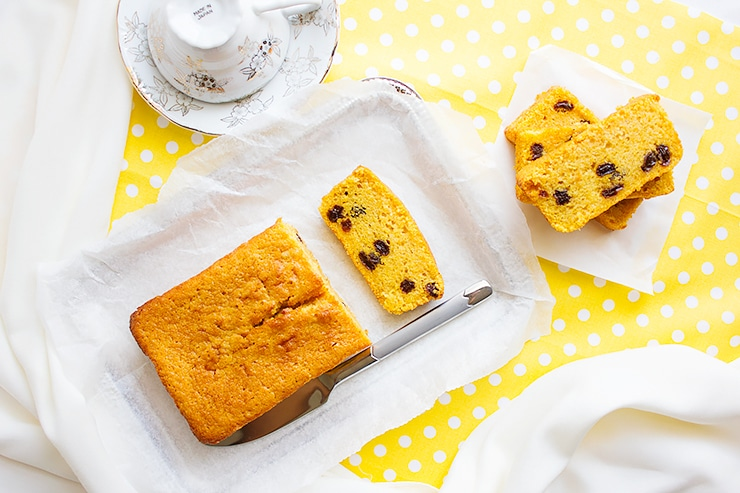 Sweet potato pound cake 2