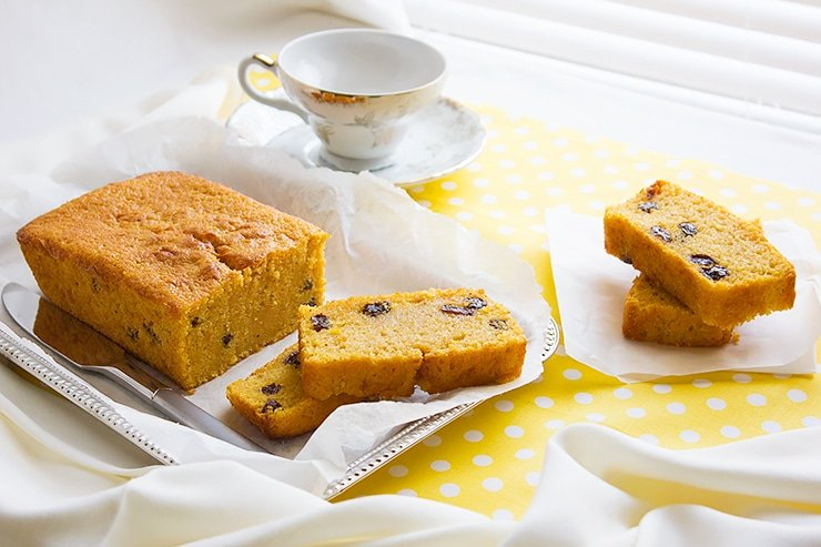 Sweet potato pound cake 7