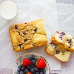 blueberry butter loaf cake 5