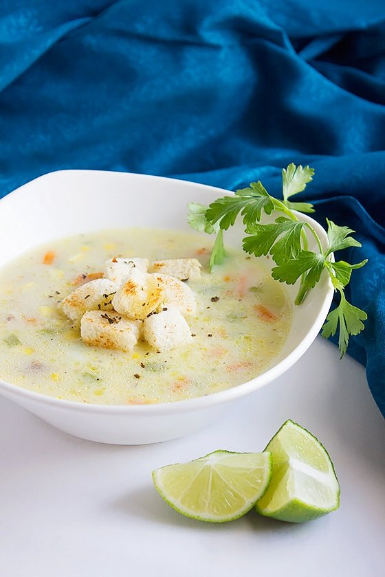 chicken corn chowder soup 2