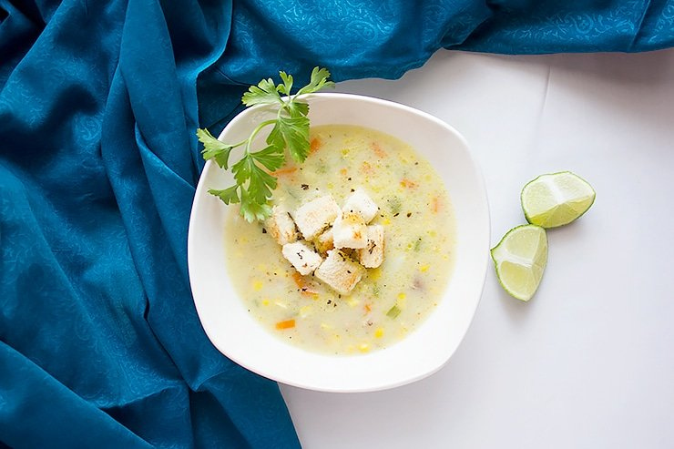chicken corn chowder soup 3