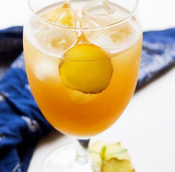 Ginger Iced Tea 4
