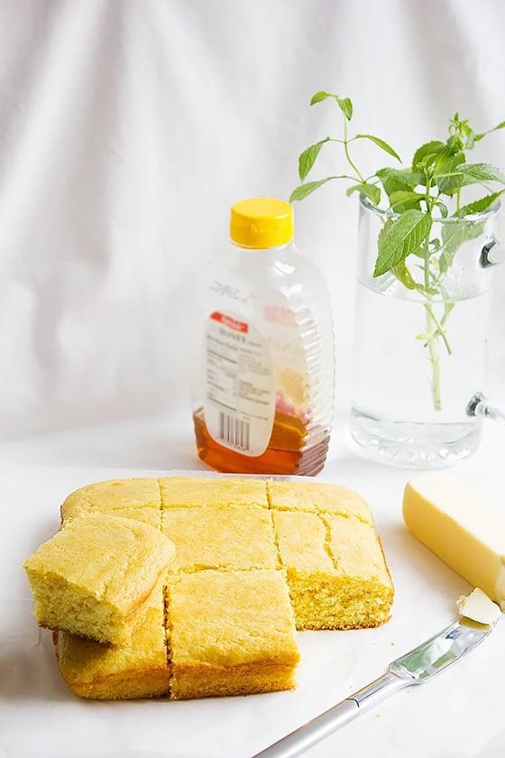 moist sweet cornbread 2
