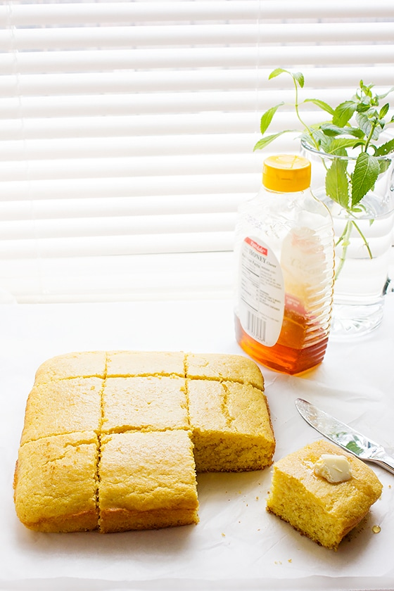Moist Sweet Cornbread Munaty Cooking