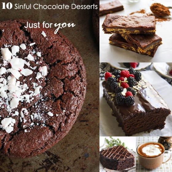 10 sinful chocolate desserts