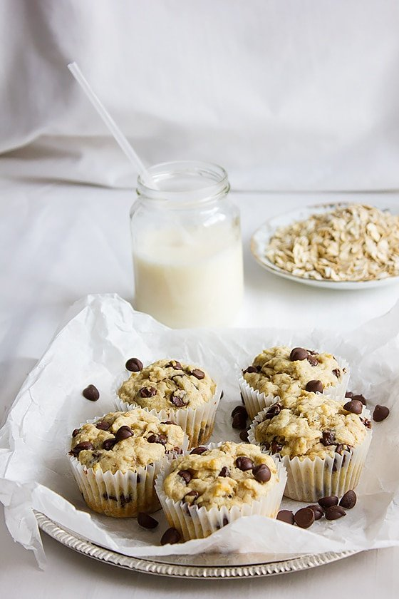 Banana Chocolate Chip Muffins 1