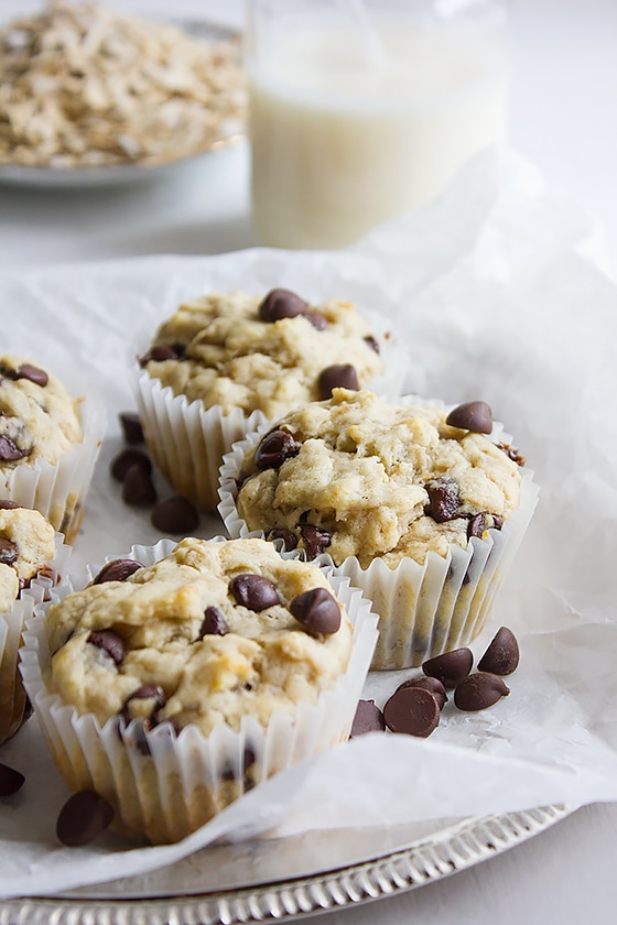 Banana Chocolate Chip Muffins 3