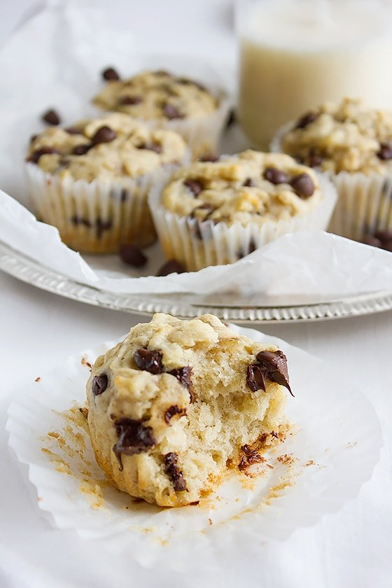 Banana Chocolate Chip Muffins 5