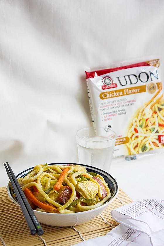 Chicken stir fry noodles 2