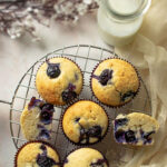 feature image of blueberry muffins 2021