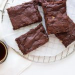chewy egg free fudge brownies 5