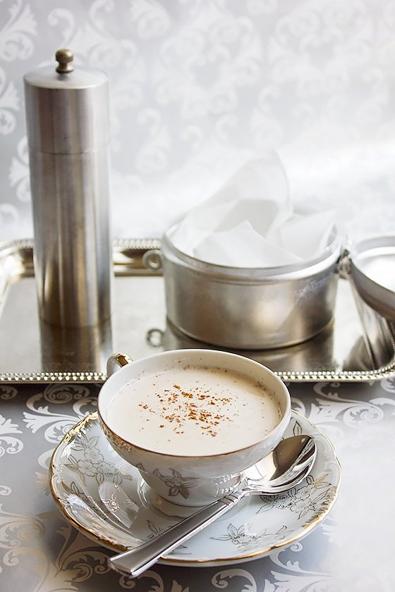 pumpkin pie spice chai latte 1
