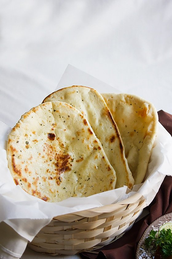butter naan without yeast or eggs 2