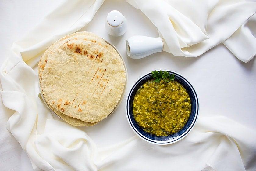 creamy spinach lentils 3