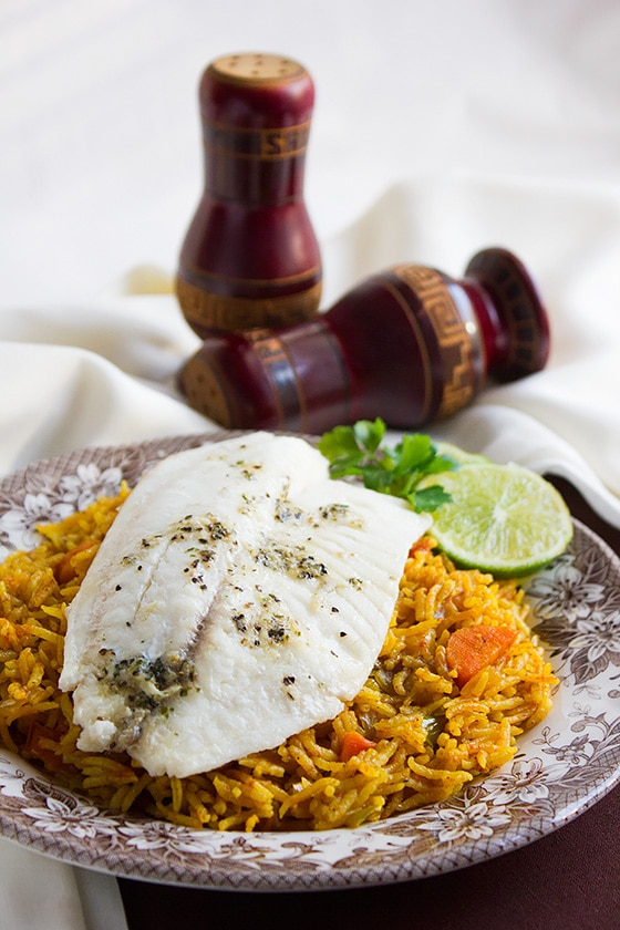 Baked Tilapia with Tomato Rice 3