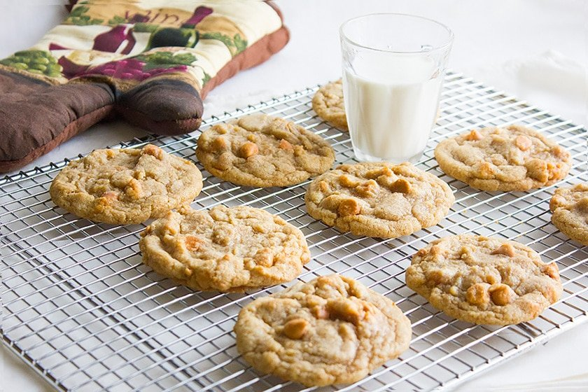 perfect butterscotch chips cookies 1