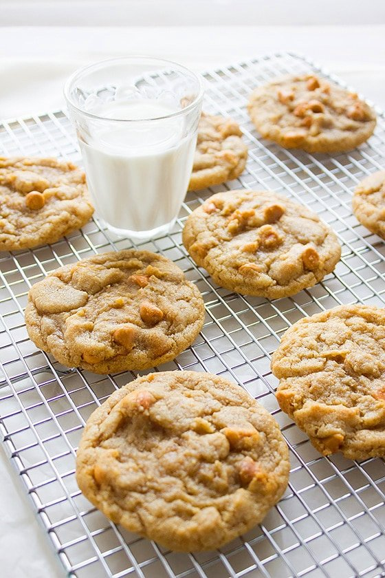 perfect butterscotch chips cookies 4