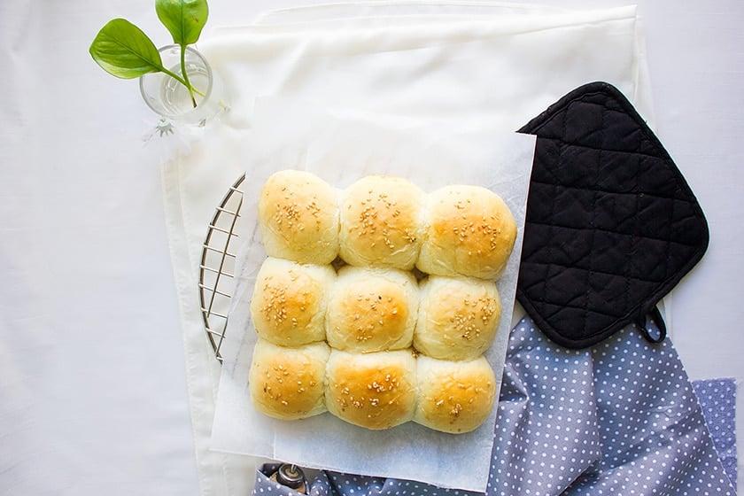 pillow soft dinner rolls 2
