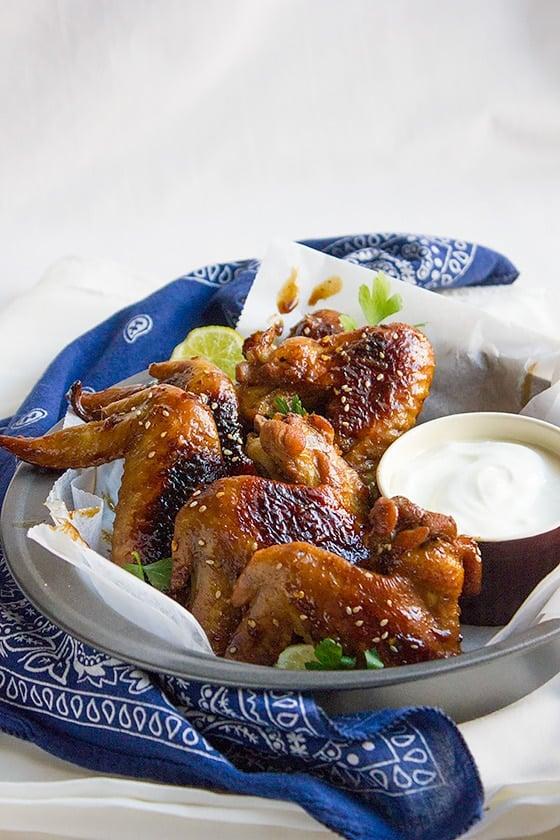 honey garlic wings 4