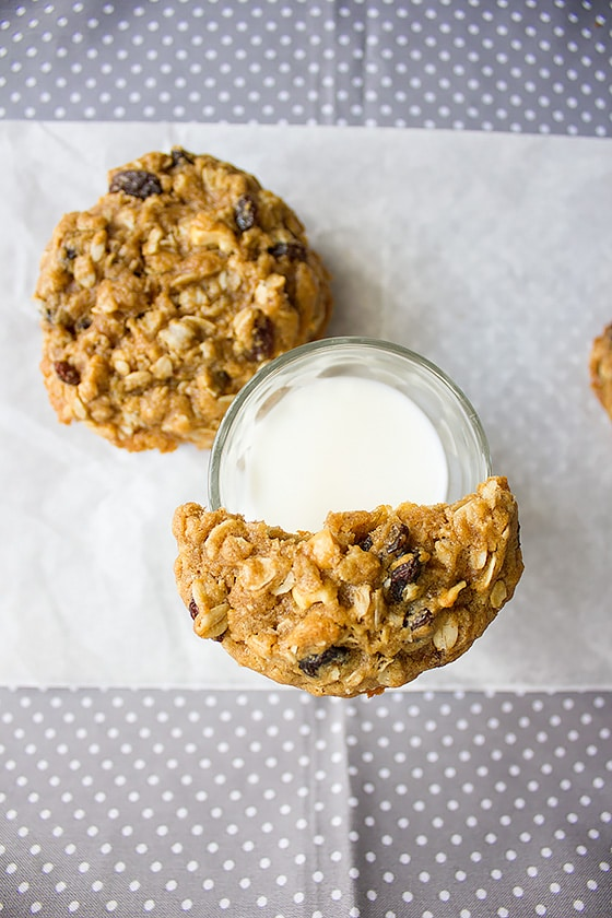 raisins oatmeal cookie 3