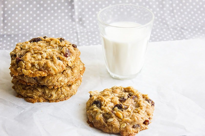 raisins oatmeal cookie 4