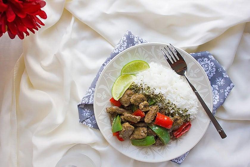 beef liver stir fry 2