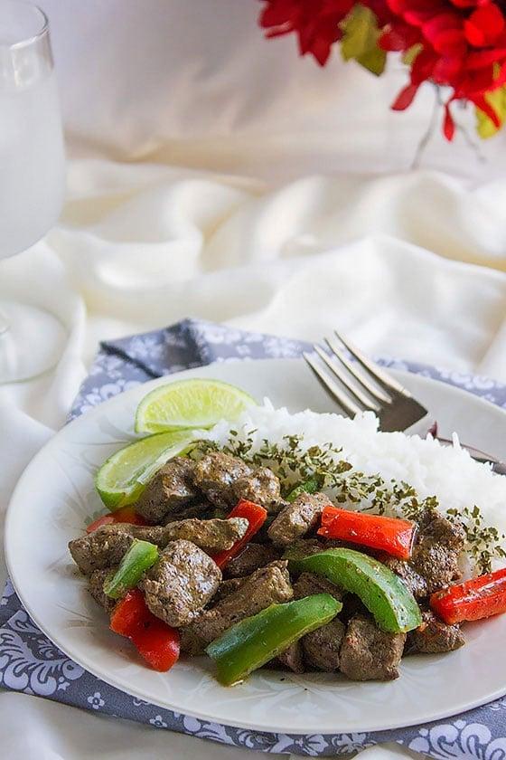 beef liver stir fry 5
