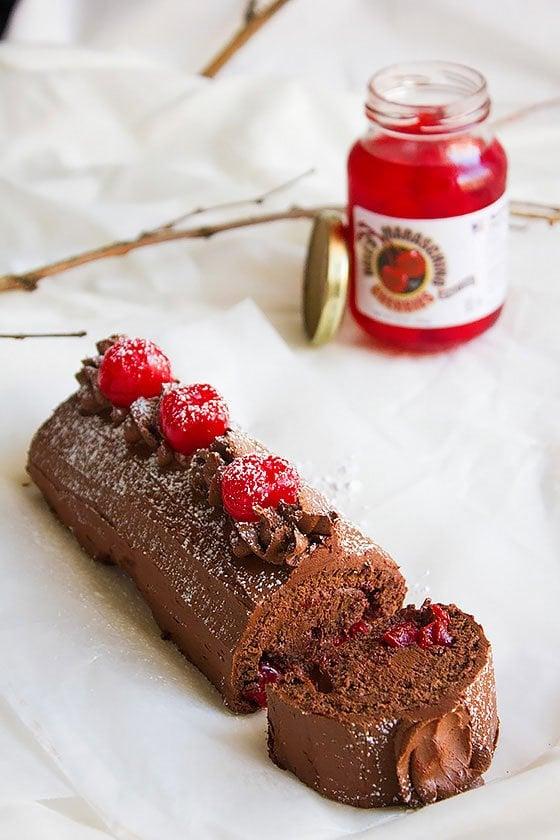 chocolate swiss roll 4