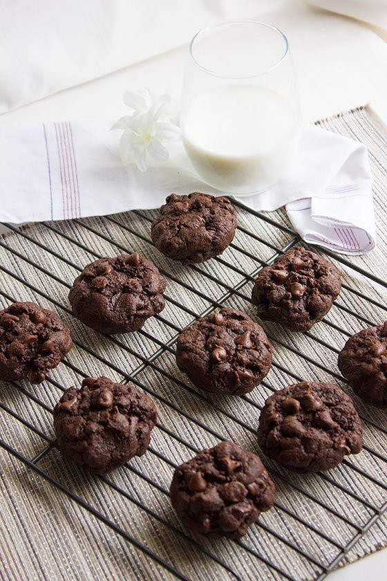 chocolate-chocolate-chip-cookies 2