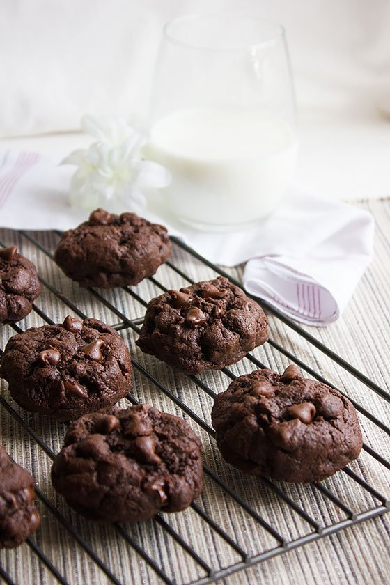 chocolate-chocolate-chip-cookies 3