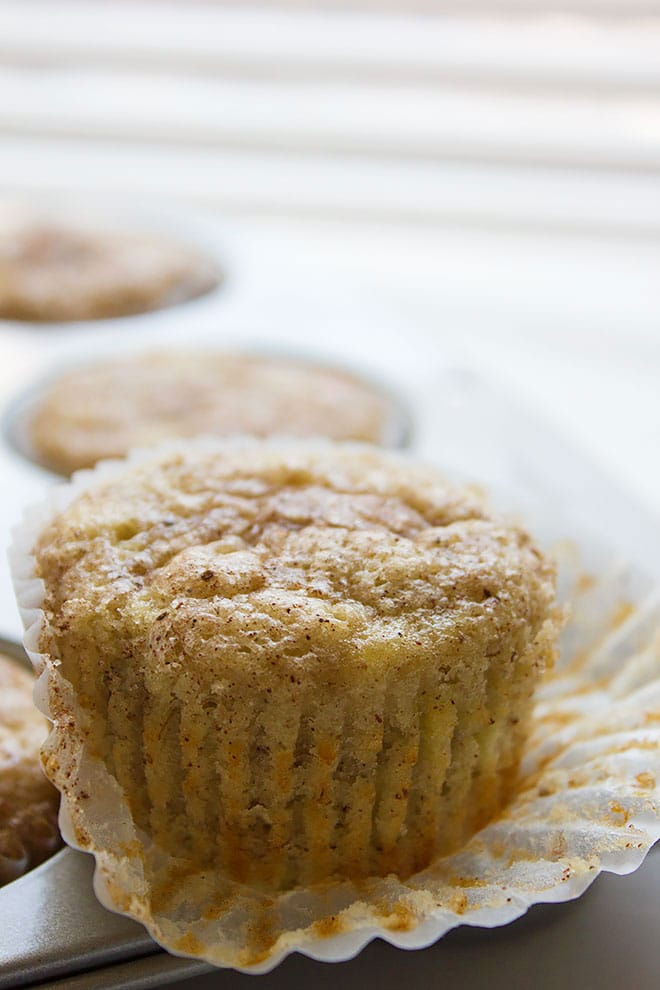Snickerdoodle Banana Muffins 2