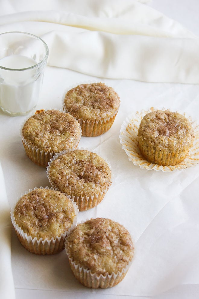 Snickerdoodle Banana Muffins 3