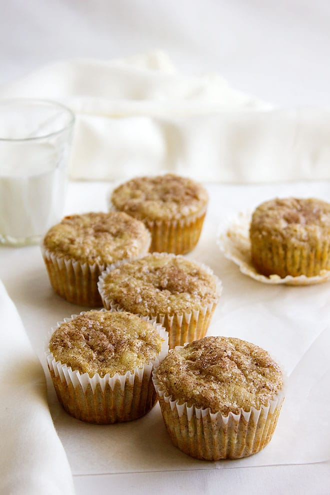 Snickerdoodle Banana Muffins 4