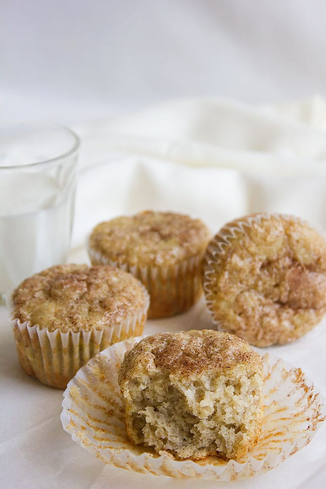 Snickerdoodle Banana Muffins 6