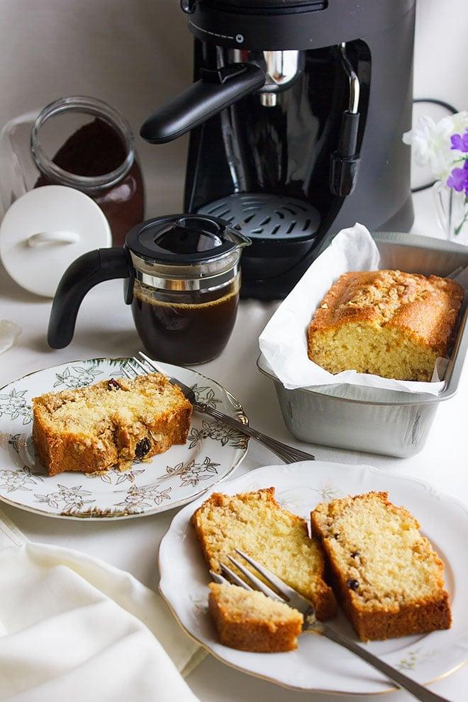 coffee cake loaf 5