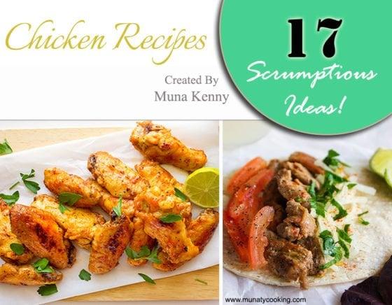 17 scrumptious chicken recipes