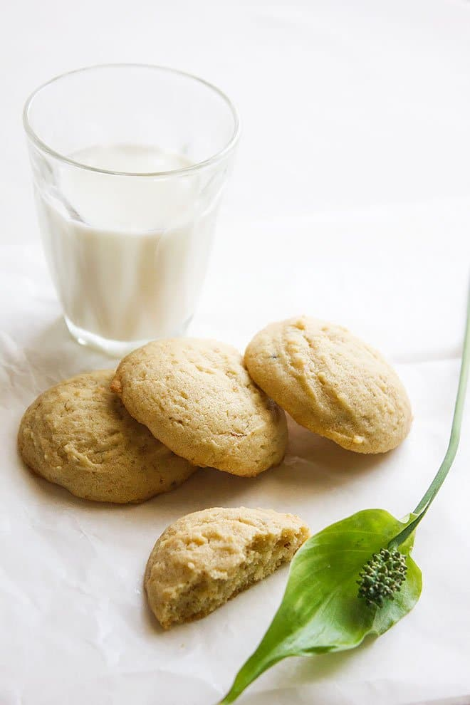 mocha flavored buttery egg free cookies 1