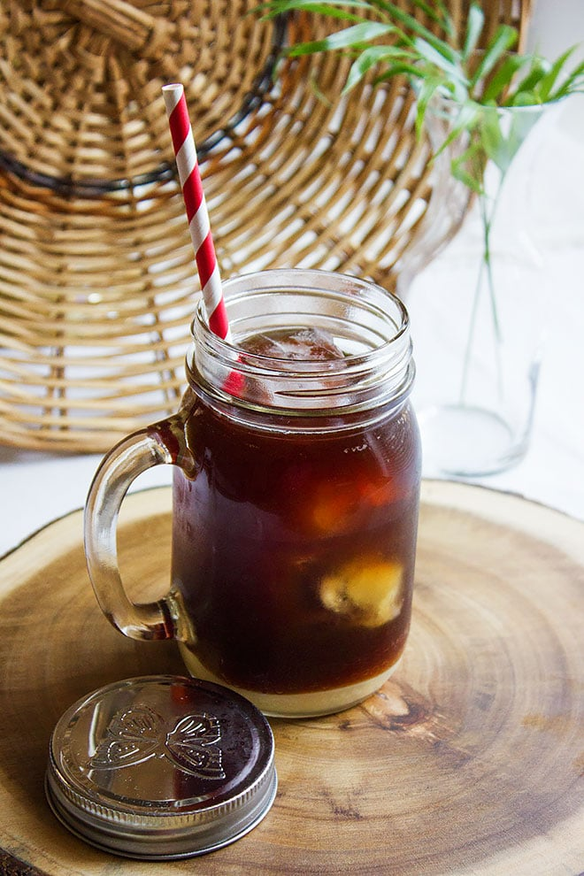vietnamese cold brewed iced coffee 2