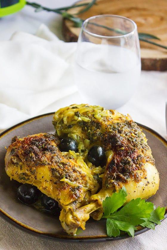 Moroccan Chicken Olive Stew 2