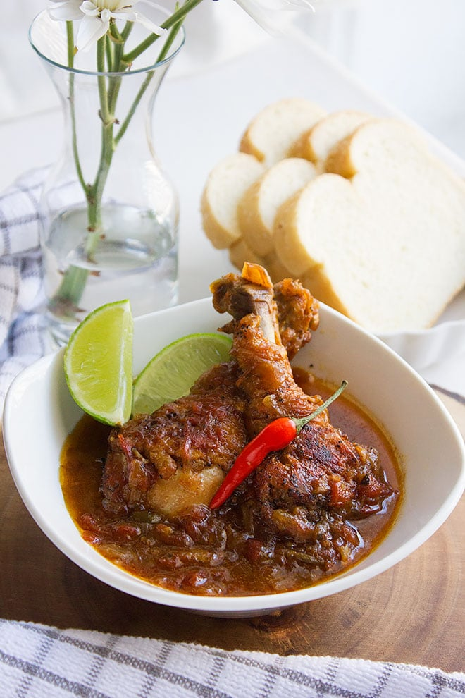 jamaican brown stew chicken 3