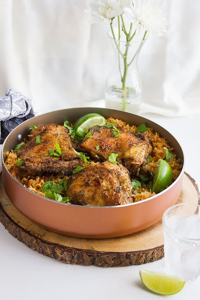 Mexican Chicken and Rice 1